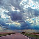 Coming Storm in Western Kansas by Catherine Sherman