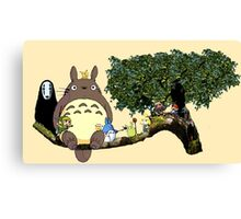Totoro and More Canvas Print