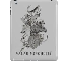 Valar Morghulis (Game of Thrones) iPad Case/Skin