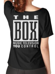 The Box Music Television You Control Women's Relaxed Fit T-Shirt