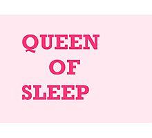 Queen of sleep Photographic Print