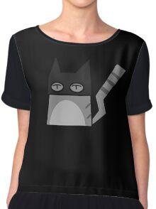 Batcat Chiffon Top