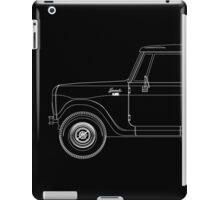International Harvester Scout 800 Outline iPad Case/Skin