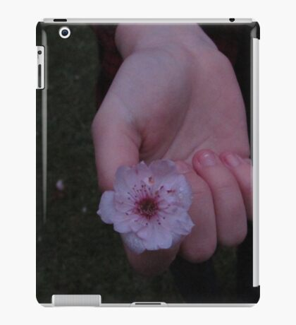 Flower Beds In Our Hands iPad Case/Skin