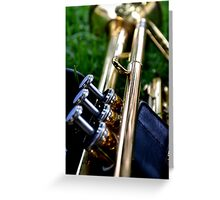 Trumpet IV Greeting Card