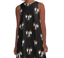 Light in the Dark A-Line Dress