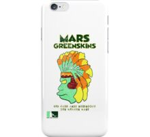 Blernsball Warrior (Futurama/MLB/NFL parody) iPhone Case/Skin