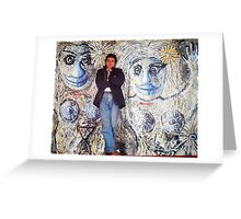 Martian Women and me Greeting Card