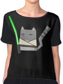Skywalker Cat Chiffon Top