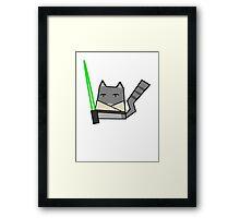 Skywalker Cat Framed Print