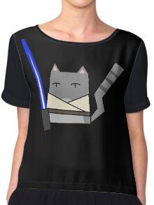 Skywalker Cat Chiffon Top