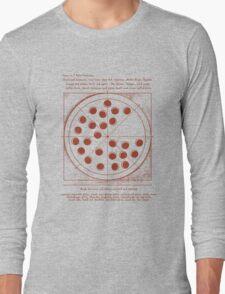 Vitruvian Pizza Peter Parker Spiderman Civil War Cap America Long Sleeve T-Shirt