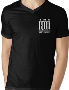 The Box Music Television You Control Mens V-Neck T-Shirt
