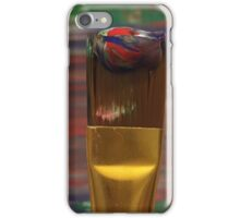 Marbled Paint Brush iPhone Case/Skin