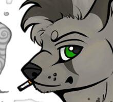 Mutt - Smoking  Sticker