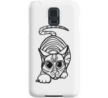 stalky cat Samsung Galaxy Case/Skin