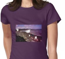 Faerie Meeting on the Ocean's Shore Womens Fitted T-Shirt