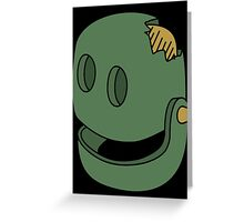 Dumb robot Greeting Card