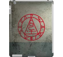 The Seal of Metatron (Red) iPad Case/Skin