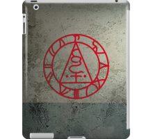 The Seal of Metatron (Red) iPad Case/Skin