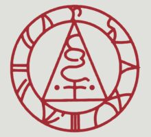 The Seal of Metatron (Red) by Greytel
