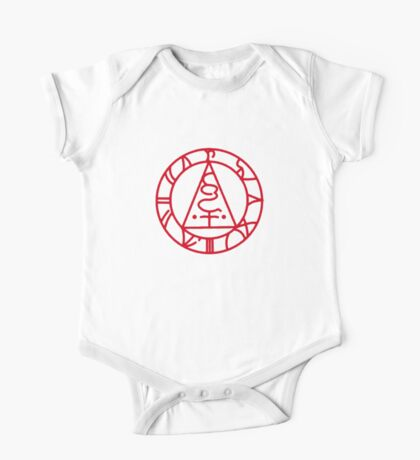 The Seal of Metatron (Red) One Piece - Short Sleeve