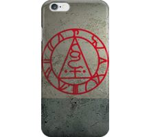 The Seal of Metatron (Red) iPhone Case/Skin