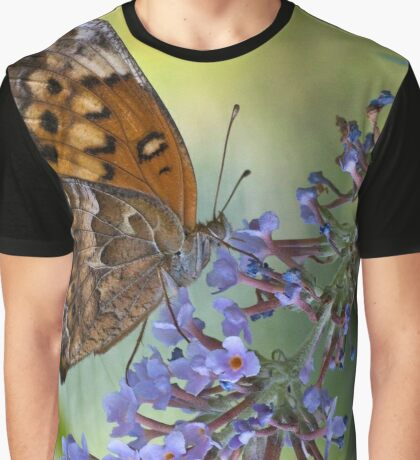 Variegated Fritillary (Euptoieta claudia) Graphic T-Shirt