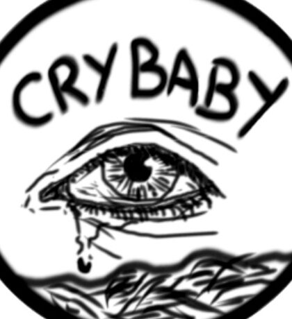 CRYBABY Sticker