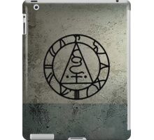 The Seal of Metatron (Black) iPad Case/Skin