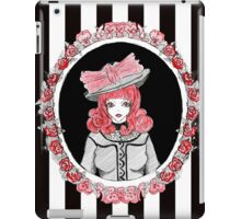 Gothic Rose Lady in the Mirror iPad Case/Skin
