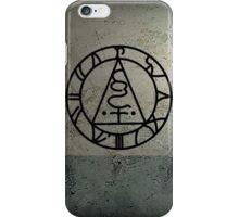 The Seal of Metatron (Black) iPhone Case/Skin