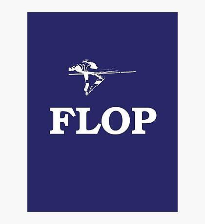 FLOP Photographic Print