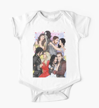 OUAT Couples One Piece - Short Sleeve