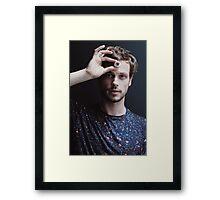Matthew Gray Gubler! Framed Print