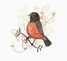 Watercolor Robin  Unisex T-Shirt