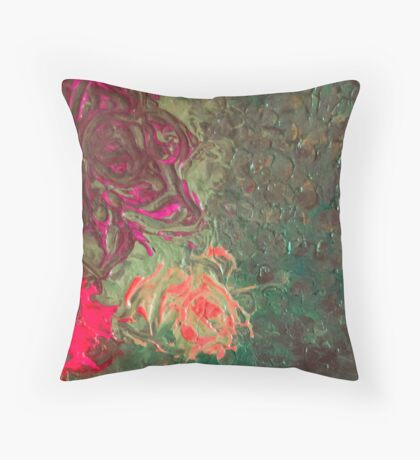 The Essence of a Peony  Throw Pillow