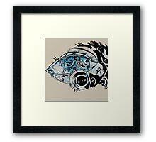 Steampunk eye Framed Print
