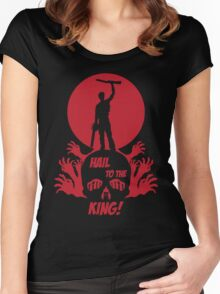 Hail to the King Women's Fitted Scoop T-Shirt