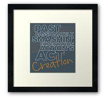 Creation! Framed Print