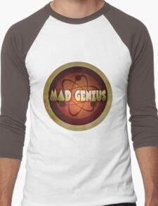 Logo - Mad Genius Men's Baseball ¾ T-Shirt