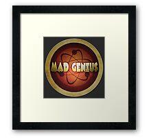 Logo - Mad Genius Framed Print