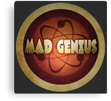 Logo - Mad Genius Canvas Print