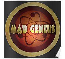 Logo - Mad Genius Poster