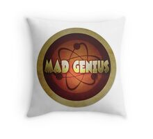 Logo - Mad Genius Throw Pillow