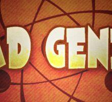 Logo - Mad Genius Sticker