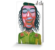 Che Guevara by Diego Manuel Greeting Card