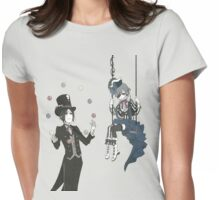 Black Butler-Book of Circus Womens Fitted T-Shirt