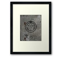 The Halo of The Sun (Black) Framed Print