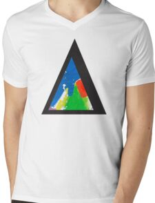 Alt-j This Is All Yours Triangle Mens V-Neck T-Shirt